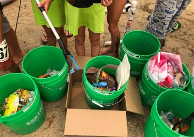 Pick and Paddle Trash haul